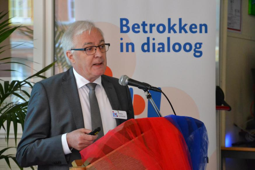 Emeritus professor Mathijs Lamberigts blikte terug op 50 jaar + 1 IPB © Jeroen Moens