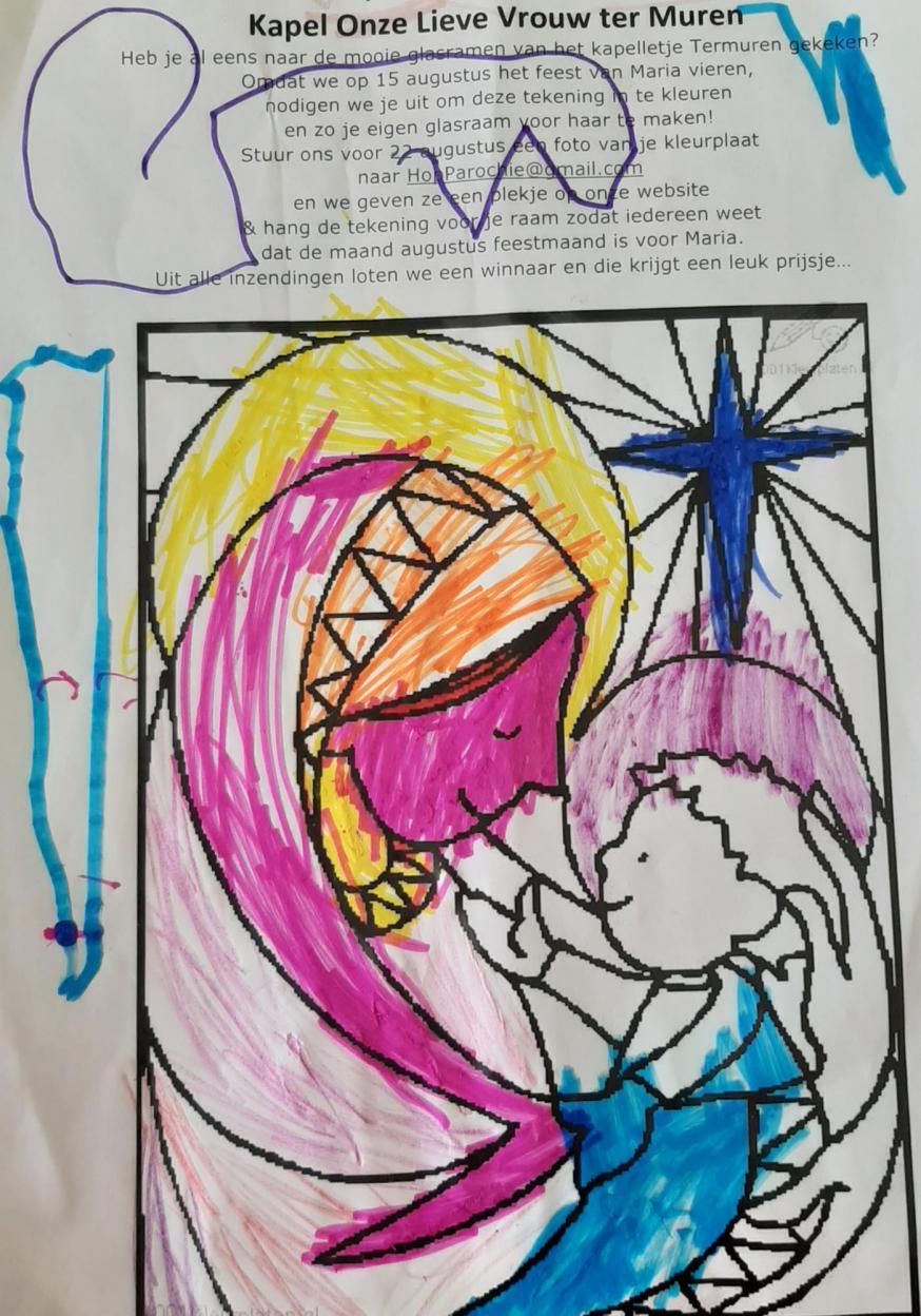 Kleurplaat van Maxime