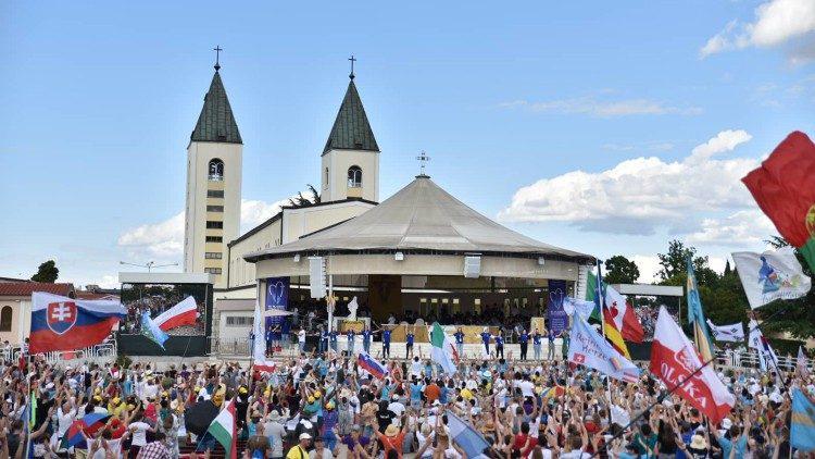 Het jongerenfestival in Medjugorje in 2019 © Radio Medjugorje Mir