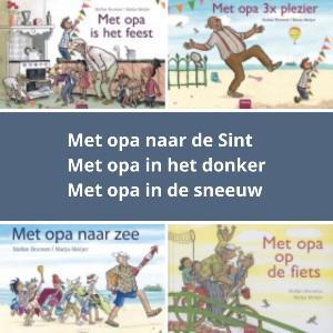 Reeks 'Met opa' © Uitgeverij Clavis