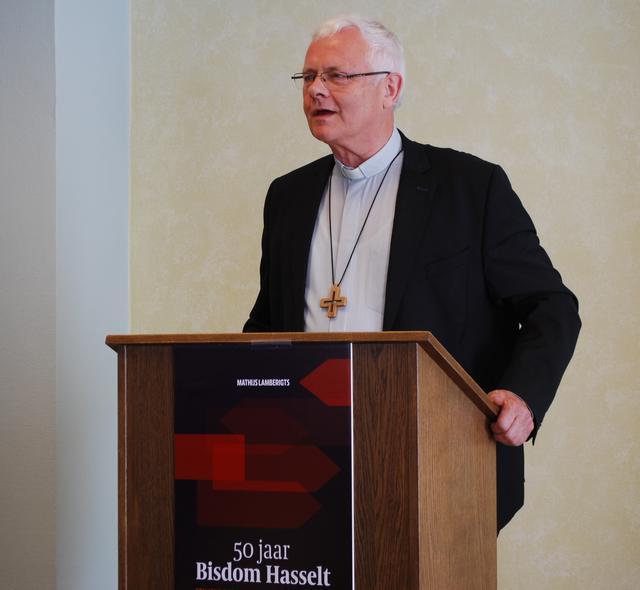 Mgr. Patrick Hoogmartens, bisschop van Hasselt © Filip Ceulemans