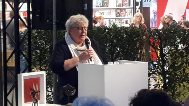 Vicevoorzitter van de jury Mieke Vanhecke © Philippe Keulemans