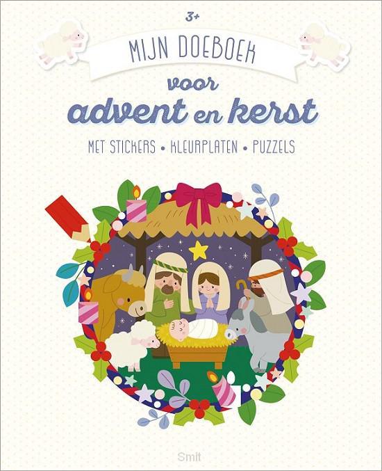 Mijn doeboek voor advent en kerst 3+