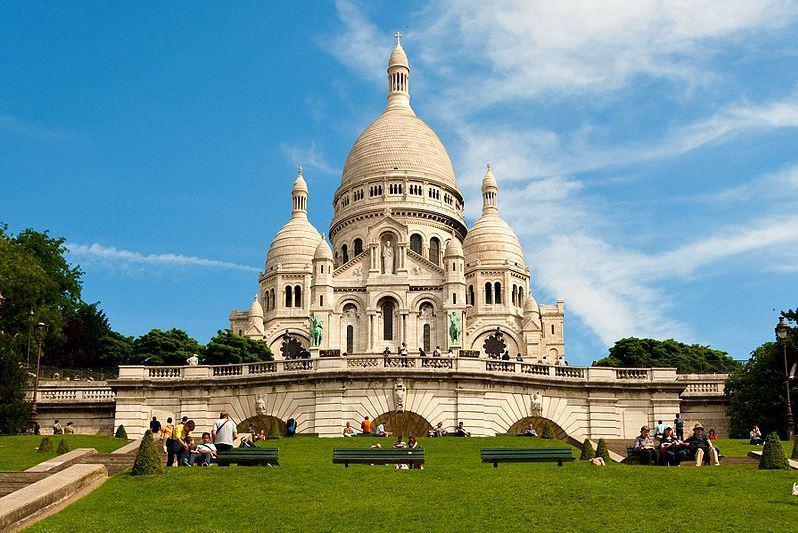 De H. Hartbasiliek van Montmartre © Wikipedia