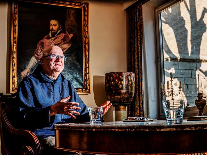 Paasinterview bisschop Lode © Nieuwsblad, foto: Inge Kinnet