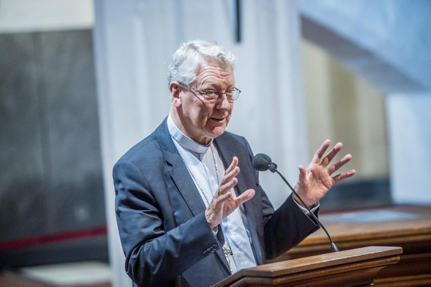 Bisschop Luc Van Looy © Bisdom Gent, foto: Frank Bahnmüller