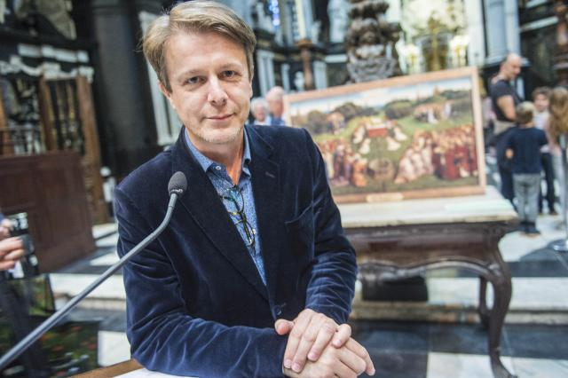 Bekendmaking stem Jan Van Eyck © Bisdom Gent, foto: Frank Bahnmuller