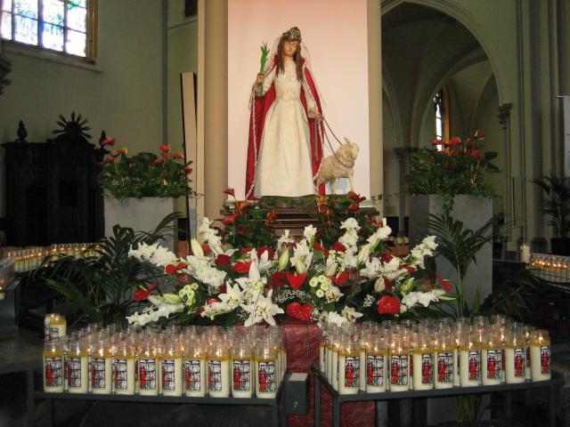 Voorbeeld uit de St.-Jacobuskerk in Lichtervelde. © Marc Vantyghem