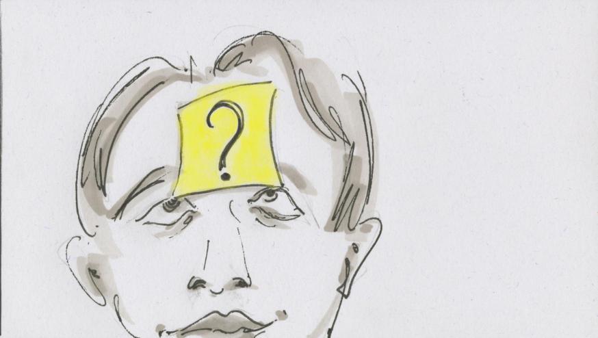 Je naam © Bisdom Gent, tekening: Koen Van Loocke