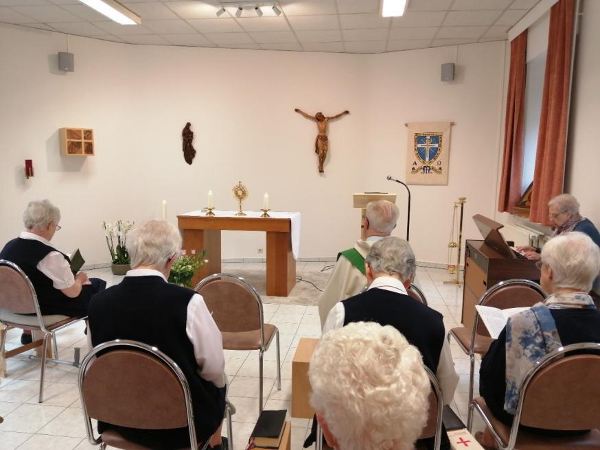 De nieuwe huiskapel van de Zusters van Liefde in Heule
