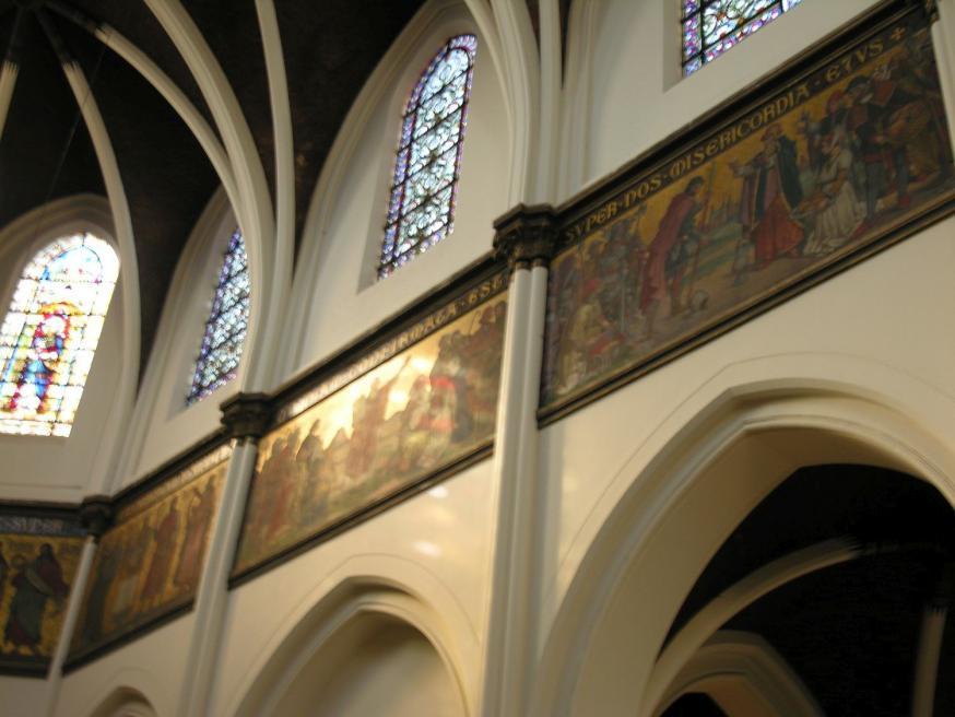 Interieur van de Sint-Norbertuskerk in Antwerpen © Elise Hooft/Onroerend Erfgoed