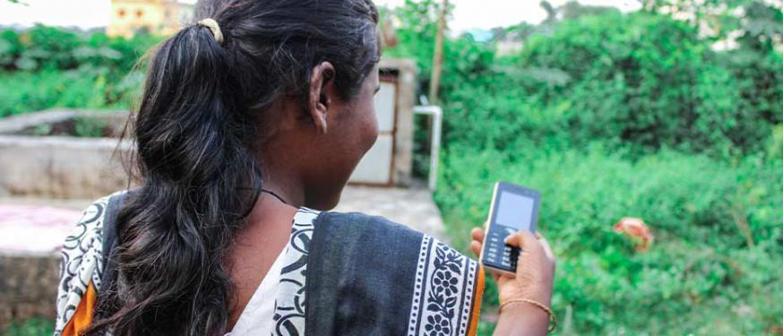 Nationalistische hindoes gebruiken steeds vaker sociale media om minderheden angst aan te jagen © Open Doors