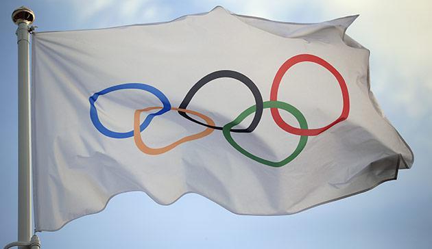 De Olympische vlag © r.r.