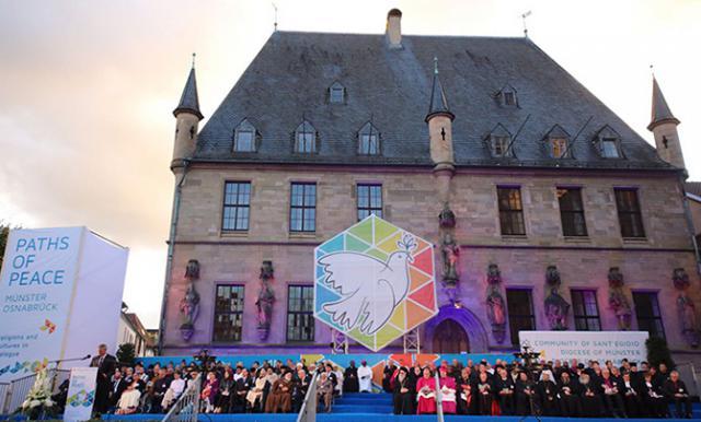 Slotceremonie van de vredesontmoeting in Osnäbruck © Sant'Egidio
