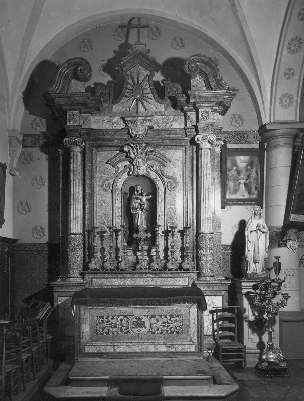 Het Maria-altaar waar we nu op woensdagavond vieren. ©  KIK-IRPA