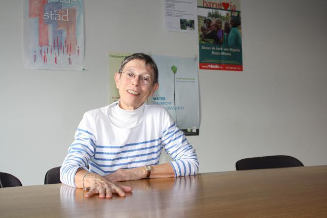 Myriam François is gebeten door parochiepastoraal in de federatie Genk-Centrum. © Bisdom Hasselt