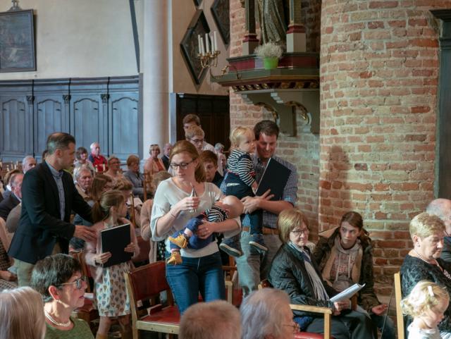 Aanstelling Pastoor Luc Mertens © Geert Maenhout