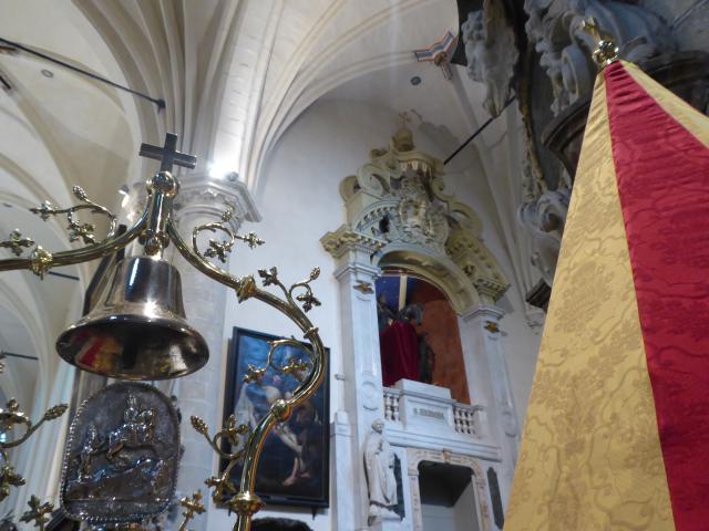 Ornamenten van de Sint-Hermesbasiliek © Sint-Hermesbasiliek, foto: Milo Van Driessche