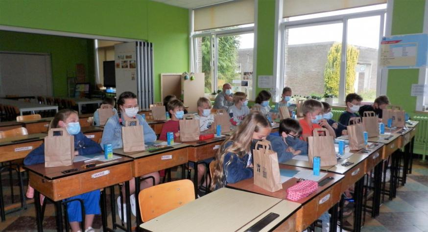 De klas in Ruddervoorde