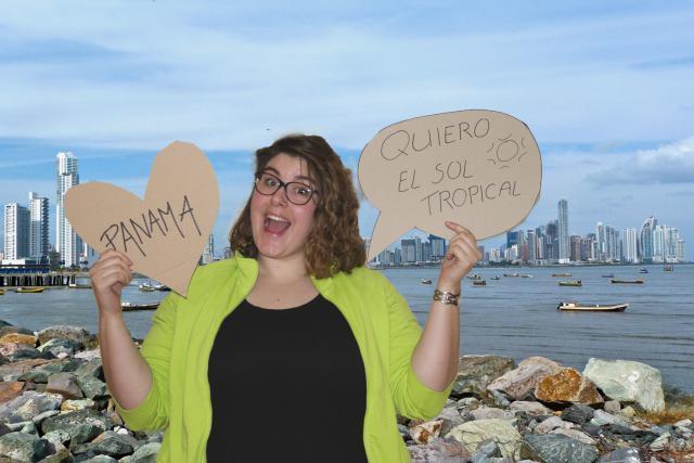 Mariet kijkt uit naar Panama!
