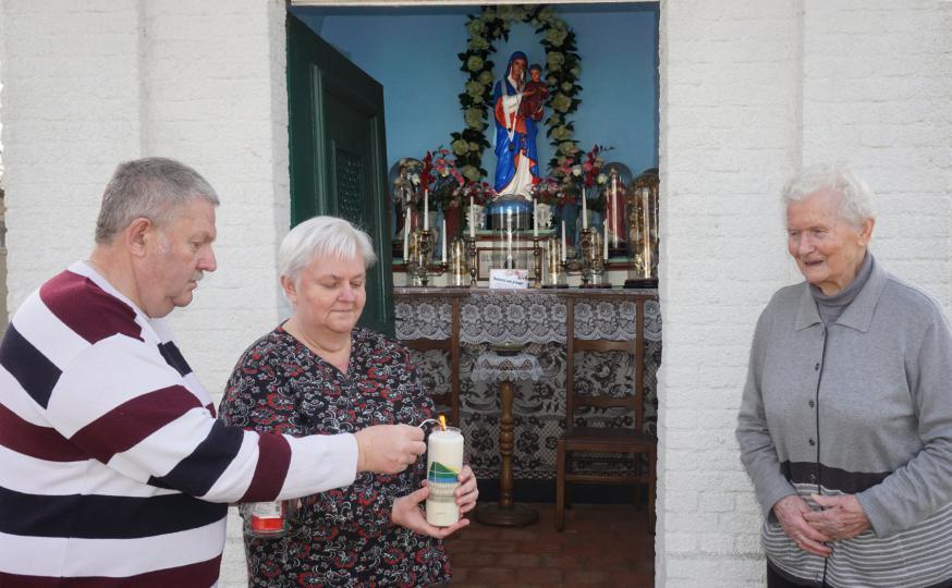 kapelletje van Achterlee © parochie Onze-Lieve-Vrouw Lichtaart