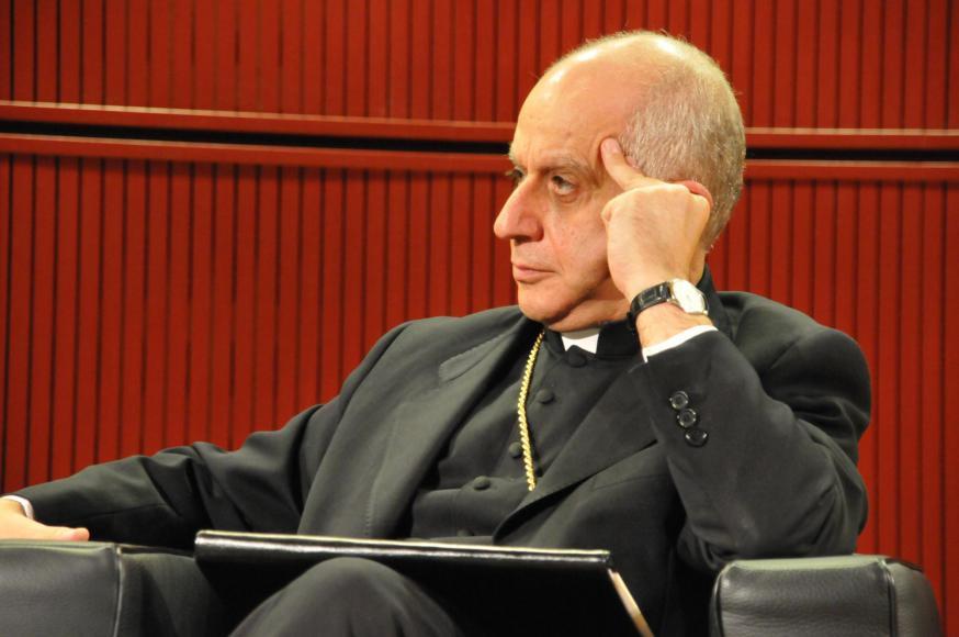 Aartsbisschop Rino Fisichella © Philippe Keulemans