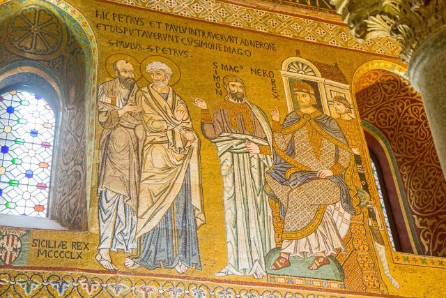 Palatijnse kapel van het Normandische paleis in Palermo, Sicilië. © Andrea Schaffer / CC Flickr