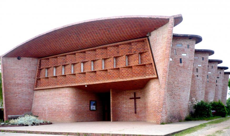 Parroquia del Cristo Obrero, Atlántida, Uruguay © CC Andrés Franchi Ugart