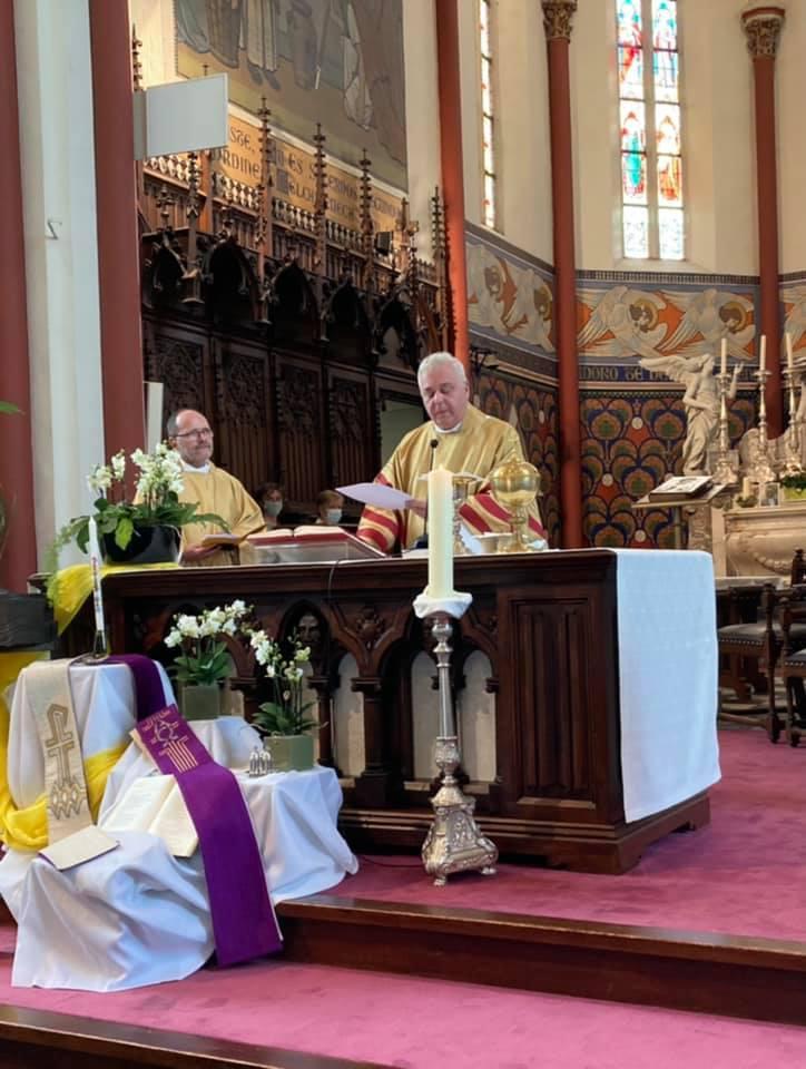 Aanstelling van pastoor Luc Verhasselt in de Sint-Amandusparochie