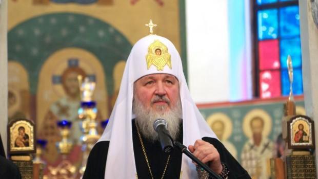 De Russisch-orthodexe patriarch Kirill  © ROC