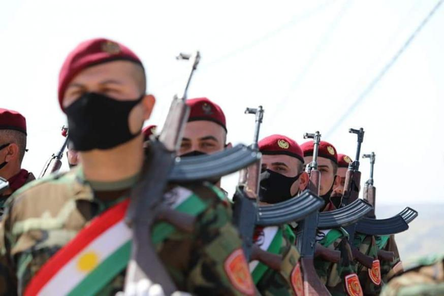 Christelijke peshmerga's © Zeravani Forces Media