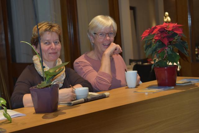 Phina en Griet  © Johannes 23 seminarie