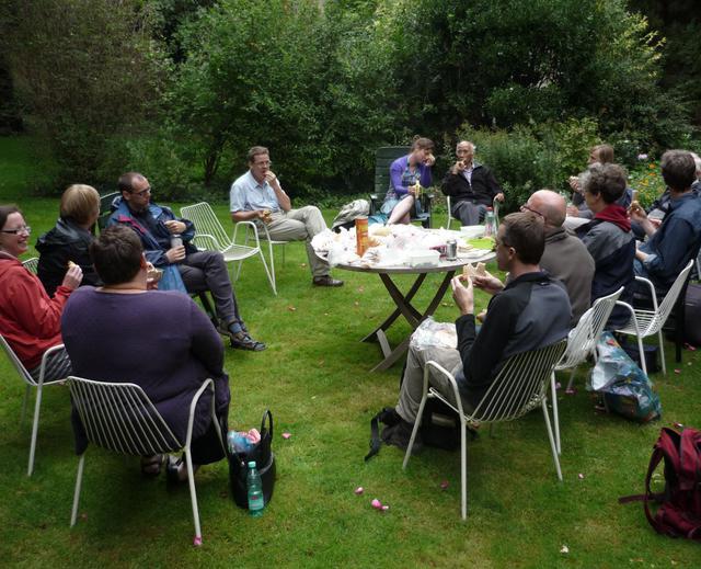 Mechelse picknick (fietstocht feest van Augustinus 2011)