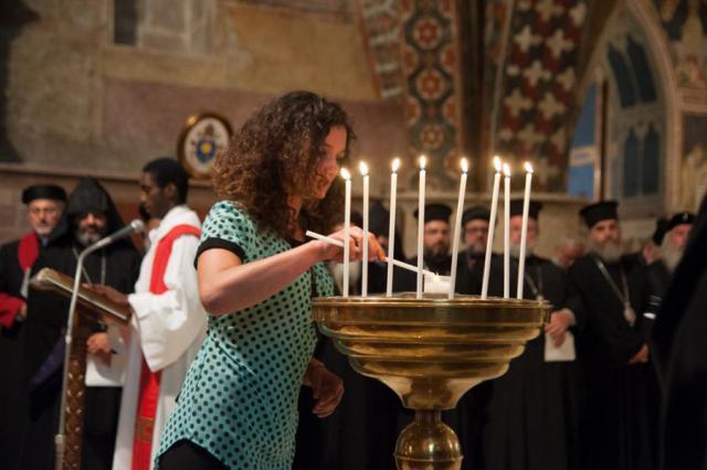 Sant'Egidio wil met de wereldvredesontmoeting bovenal 'de geest van Assisi' doorgeven aan jongere generaties. © Sant'Egidio