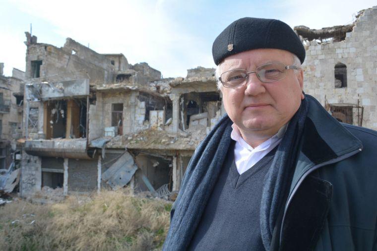 Priester-coördinator Andrzej Halemba van de steunprojecten van Kerk in Nood in Afrika en Azië © Kerk in Nood