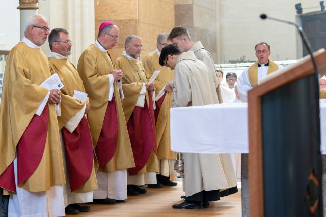 priesterwijding © belgische delegatie montfortanen