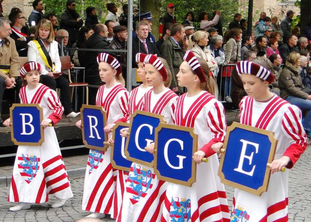 Heilig Bloedprocessie Brugge © commons.wikimedia.org
