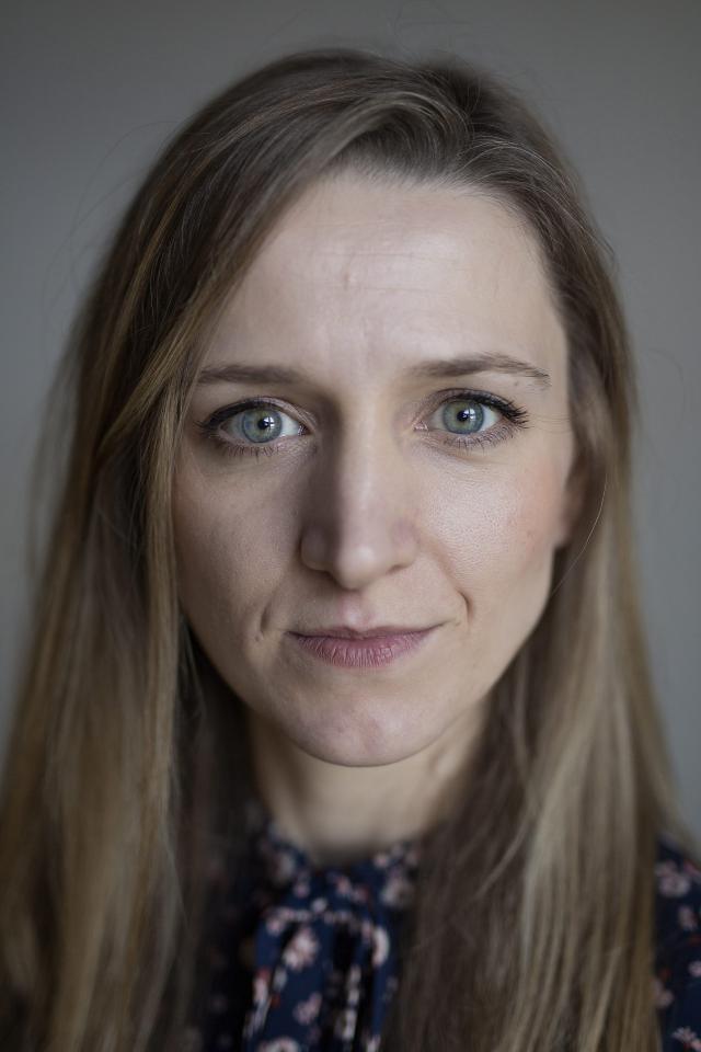 Alicja Gescinska. Foto Gert Verbeelen/Persdienst VRT