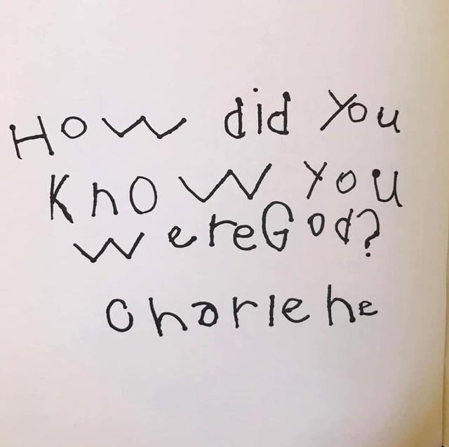 Hoe wist je dat je God was? © Bored Panda