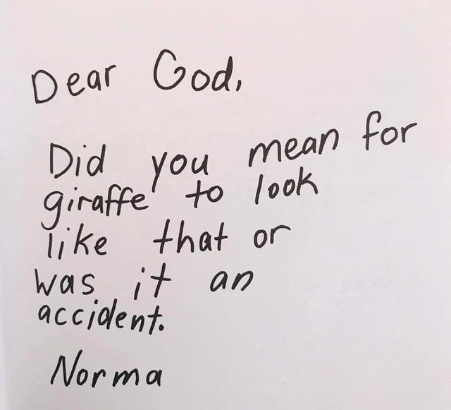Was het de bedoeling om de giraf zo te maken of ging dat per ongeluk? © Bored Panda