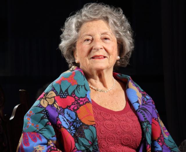 Voorzitster Regina Sluszny van het Forum der Joodse Organisaties (FJO)  © Moshe Yonathan