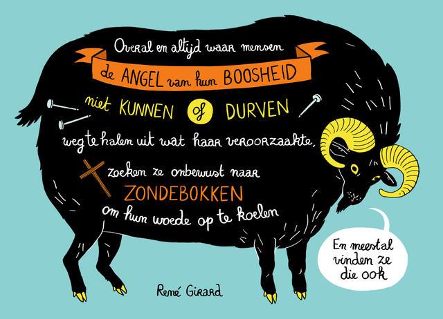 Het zondebokmechanisme volgens René Girard. © Inne Haine