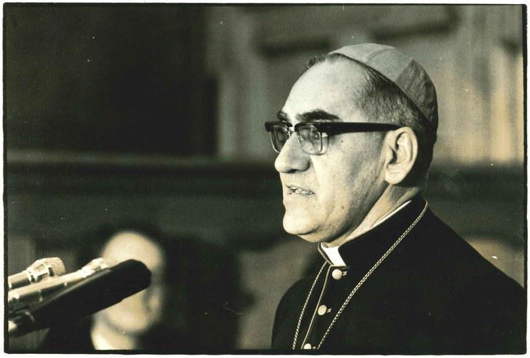 Bisschop Romero. © Universiteitsarchief van de KU Leuven