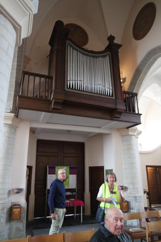 het mooie orgel van Meuzegem