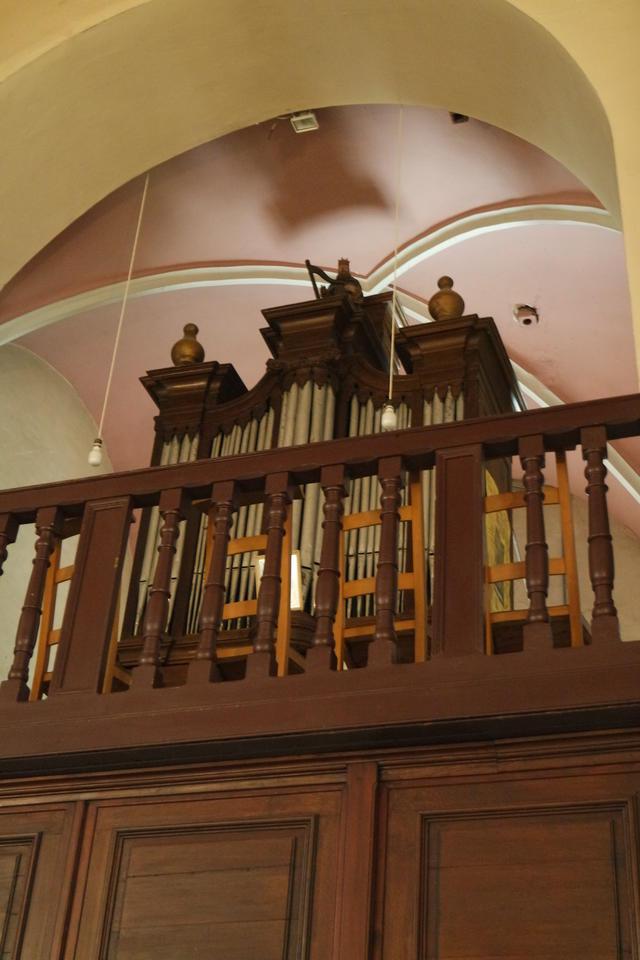 het orgel dat oorspronkelijk in Wolvertem stond