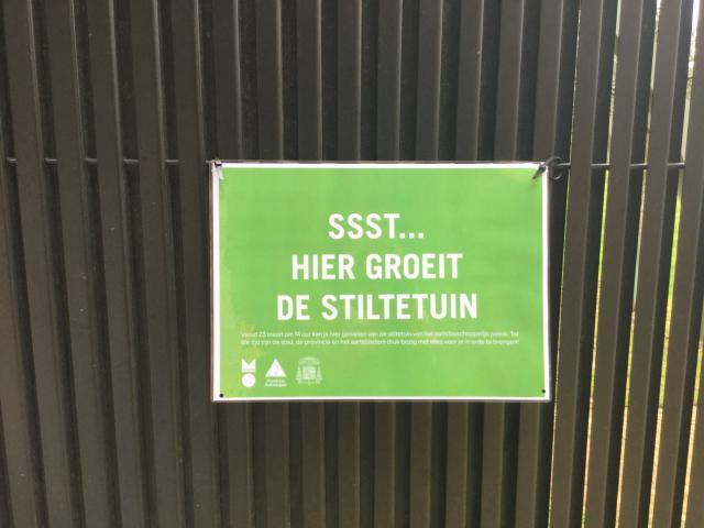 De tuin van het aartsbisschoppelijke paleis wordt als stiltetuin opengesteld © communicatiedienst aartsbisdom Mechelen-Brussel