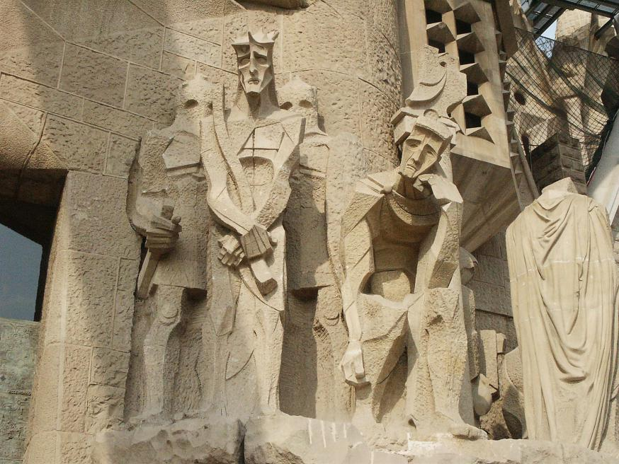 Sagrada Família © Rp22, CC BY 3.0 <https://creativecommons.org/licenses/by/3.0>, via Wikimedia Commons