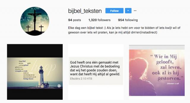 •Bijbel_teksten © Instagram