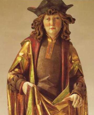 De heilige Pancratius. © Heiligen.net