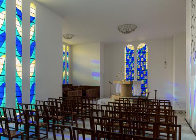 Binnenzicht van de Kapel van Vence © Website Chapelle Matisse